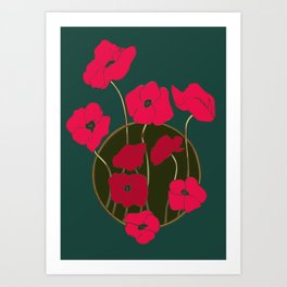 Flowers for Mom Art Print