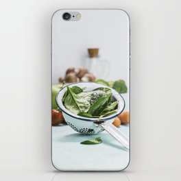 fresh vegetables iPhone Skin
