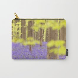 Bluebell forest in full bloom Carry-All Pouch