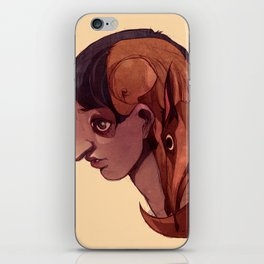 Simple Anatomy 1  iPhone Skin