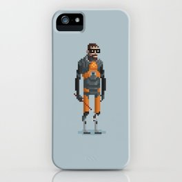 Man With a Crowbar iPhone Case