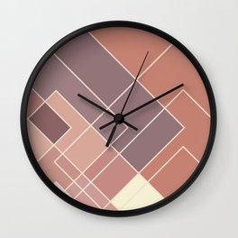 GeoPink Wall Clock