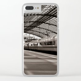 Train-Station of Berlin Clear iPhone Case