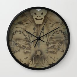 HeadBored Wall Clock