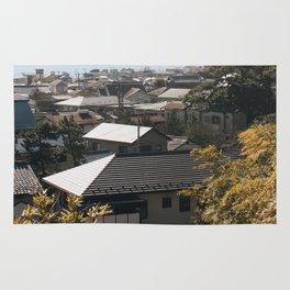 Japan's Coast Rug