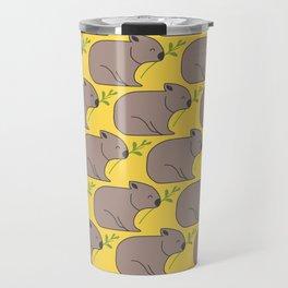 Wombat Parade II Travel Mug