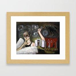 Il segreto della ballerina (The ballerina's secret) Framed Art Print