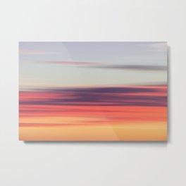 Abstract Sunrise Metal Print