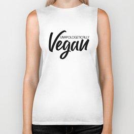 Unapologetically Vegan Biker Tank