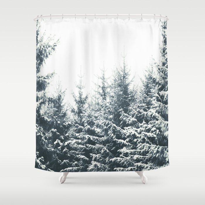 In Winter Shower Curtain by tekay   Society6