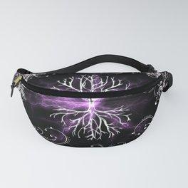 Tree of Life, Purple Universe, Cosmic Tree Fanny Pack