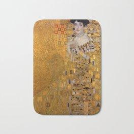 Adele Bloch-Bauer I by Gustav Klimt Bath Mat