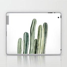 Tall Cacti Watercolor Painting Laptop & iPad Skin