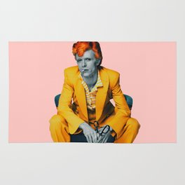 pinky bowie 2 Rug