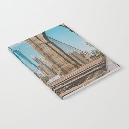 The Bridge in New York City (Color) Notebook