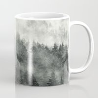 creepy Mugs featuring Everyday by Tordis Kayma