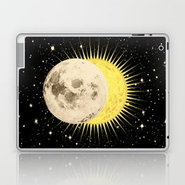 'Imminent Eclipse' Sun Moon & Stars Laptop & iPad Skin