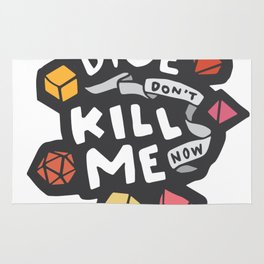 Dice Don't Kill Me Now - Sunset Rug