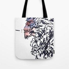 Sun Wukong the Monkey King Tote Bag
