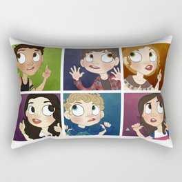 Many cutes! Rectangular Pillow