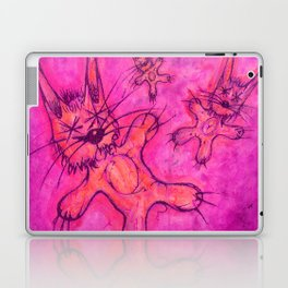Record Cover for some Jazzed Rabbits, Violetish. Laptop & iPad Skin