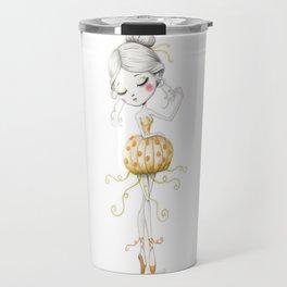 The Pumkin Ballerina Travel Mug