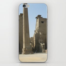 Temple of Luxor, no. 1 iPhone Skin