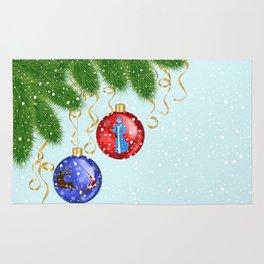 Christmas background Rug