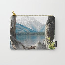 Tetons at Jackson Lake Wyoming Carry-All Pouch