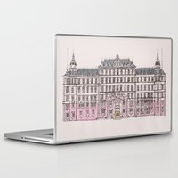 budapest Laptop & iPad Skins featuring Grand Budapest by Imogan T