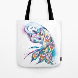Princess Peacock Tote Bag