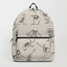 Skeleton Yoga Backpacks