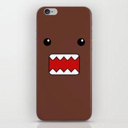 Domo Kun - Brown Japanese Monster iPhone Skin