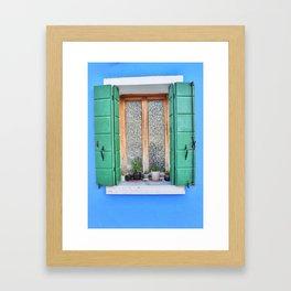 Windowsill Framed Art Print