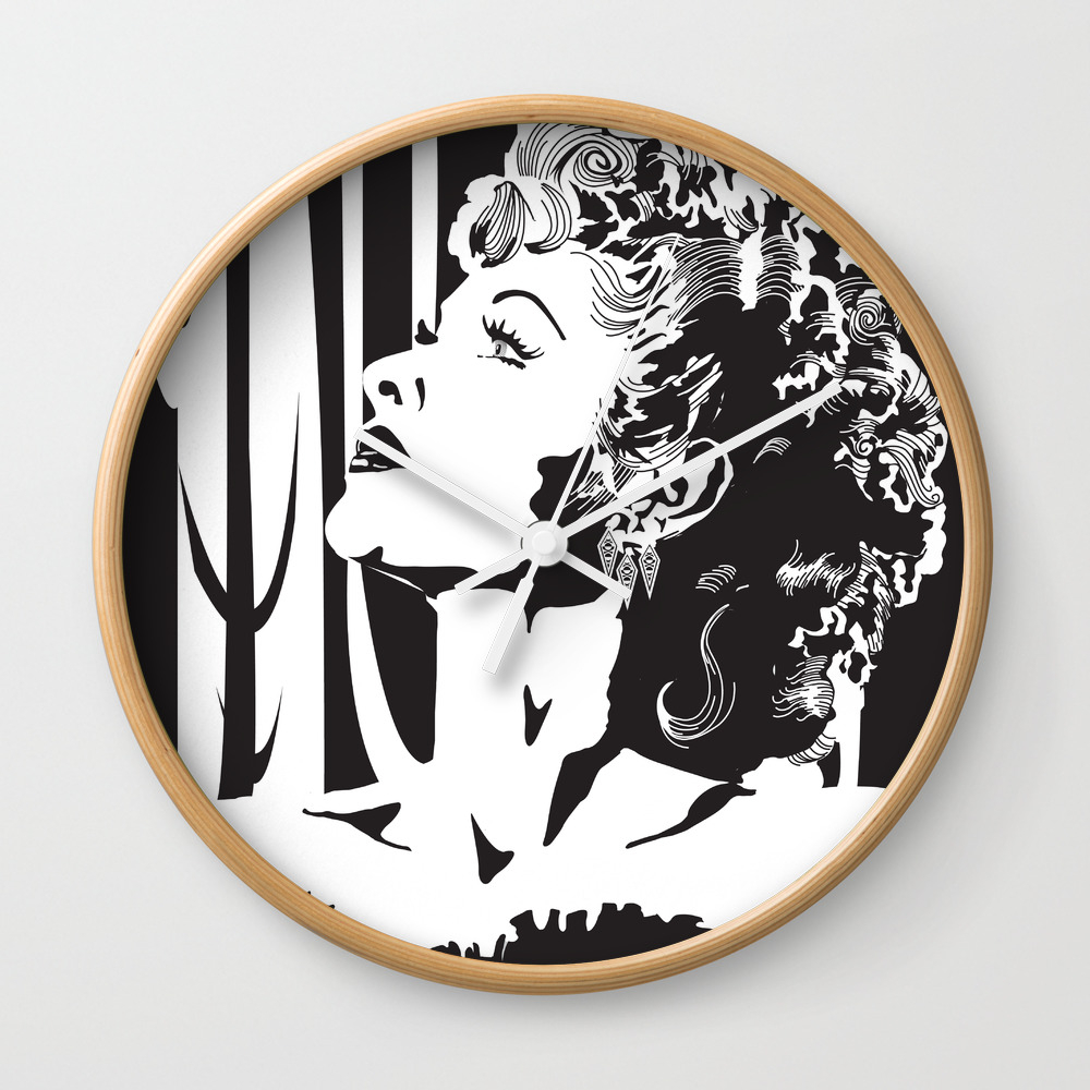 I Love Lucy Wall Clock by Luvisasong CLK1364099