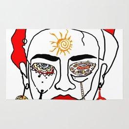 Move like Frida Kahlo Rug