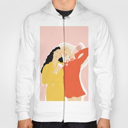 Best Friends and Wine Hoody