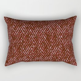 red denim Rectangular Pillow
