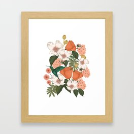 Flower Garden Framed Art Print