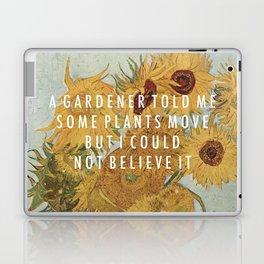 Hunting for Sunflowers Laptop & iPad Skin