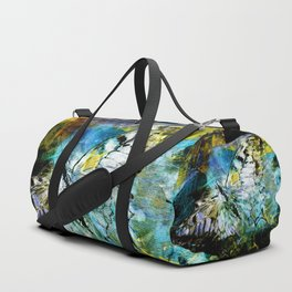 The birth of the butterfly Duffle Bag