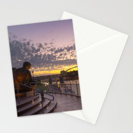 Pittsburgh At Dawn Stationery Cards