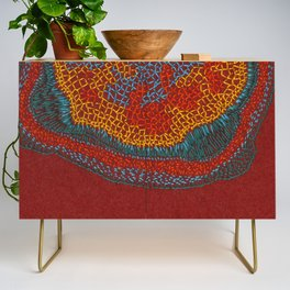 Growing - Lamium - plant cell embroidery Credenza