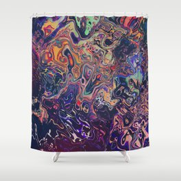 Trippy Shower Curtains