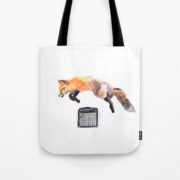 Fox Trot Blues Tote Bag