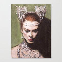 The Sparkling Diamond Canvas Print