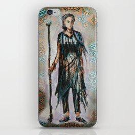Wandering knight enchantress iPhone Skin