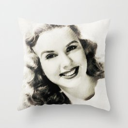 Deanna Durbin Throw Pillow