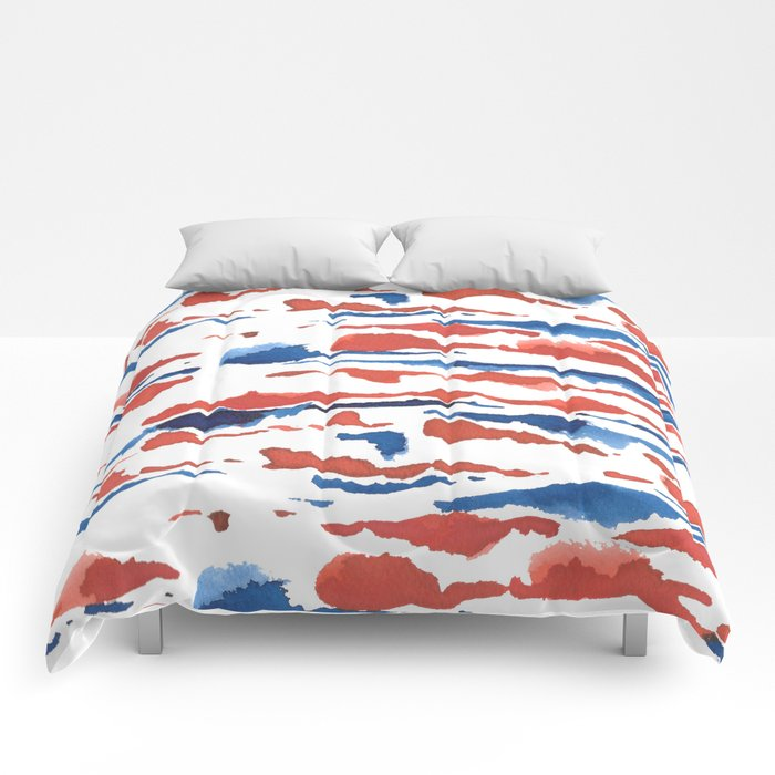 aquarela stains Comforters