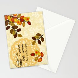 Painting In Colors Stationery Cards
